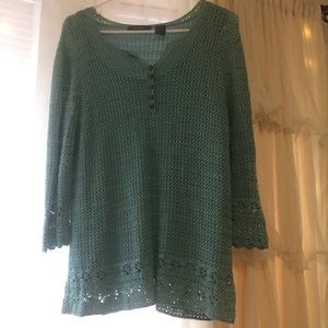 NWOT Liz Claiborne Knit Top